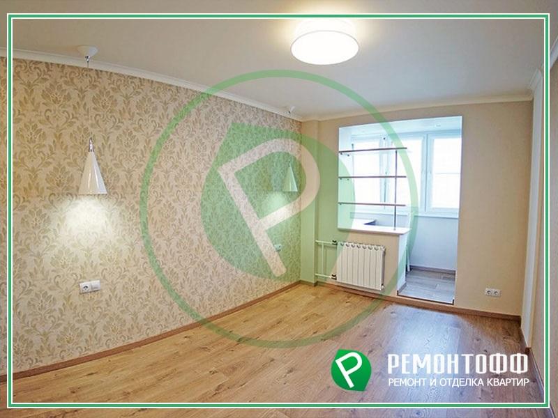 Ремонт однокомнатной квартиры 42м2