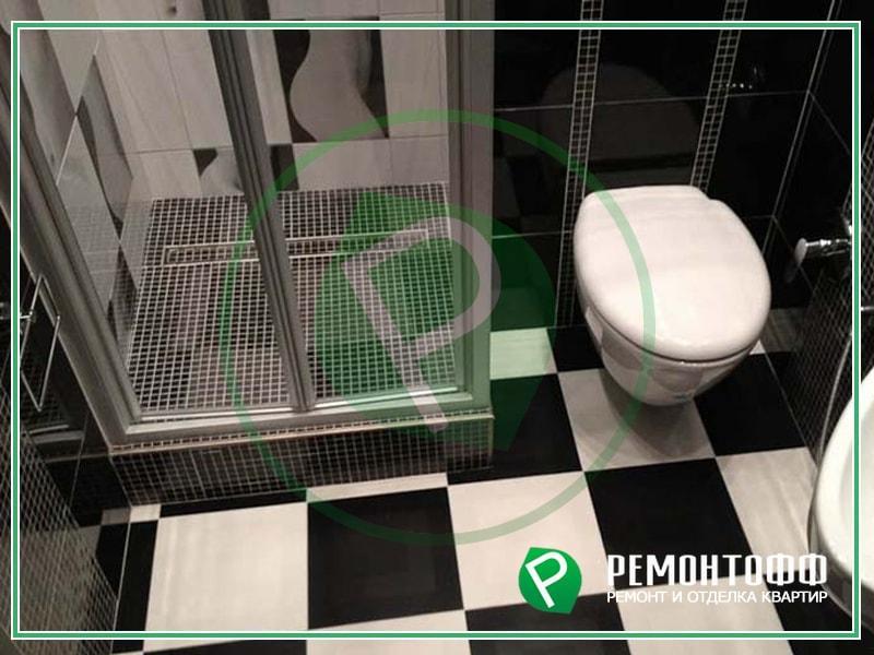 Ремонт ванной комнаты 6 м2
